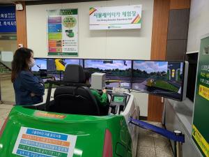 장내기능·도로주행…사고 위험 없이 '운전면허 시뮬레이터'로 안전하게 연습 가능
